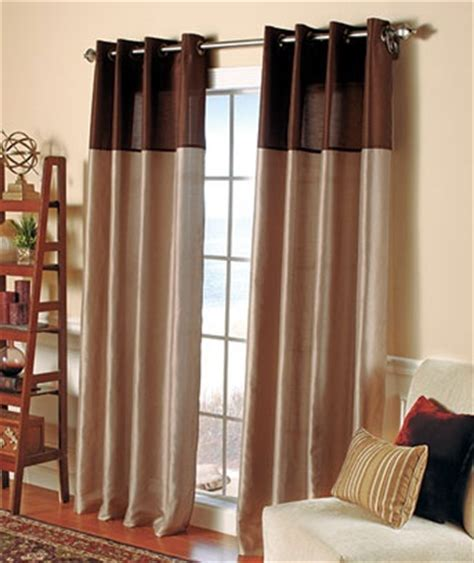 two toned tab curtains papel tapiz