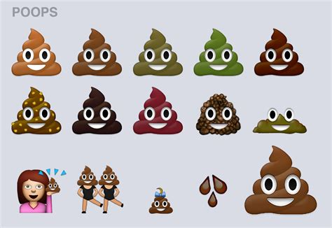 Finally, Diverse Poop Emojis.