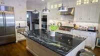 granite kitchen countertops Black Granite Countertops - Luxurious Look for Kitchens