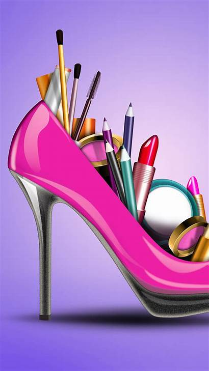 Girly Desktop Pink Wallpapers Galaxy Creative Cosmetics