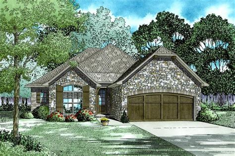 ranch home plan  bedrms  baths  sq ft