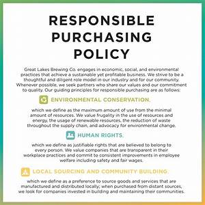 great lakes brewing company cleveland ohio gift shop With purchasing policies and procedures template
