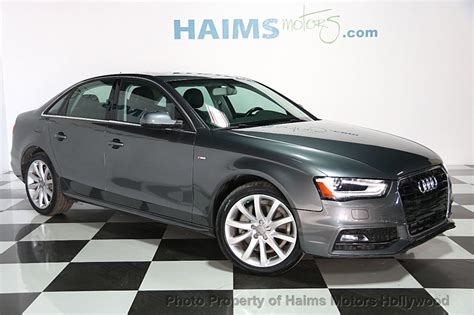 2014 Audi A4 by 2014 Used Audi A4 4dr Sedan Cvt Fronttrak 2 0t Premium At