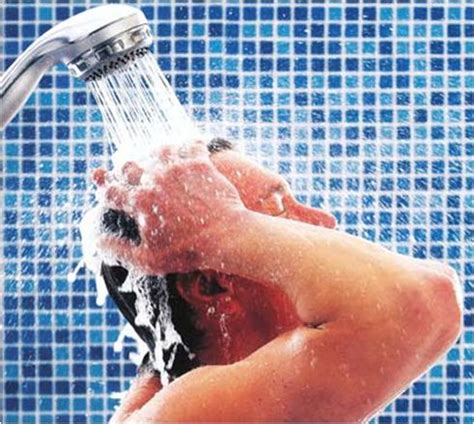 Taking Shower - how to get rid of odor naturally