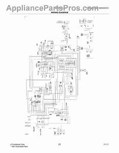 Parts For Frigidaire Fgus2642lf2  Wiring Diagram Parts