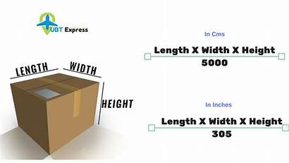 Weight Volumetric Calculator Calculate Courier Dhl Dimensional