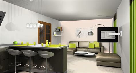 idee cuisine americaine appartement dcoration cuisine ouverte dco cuisine ouverte sur salon