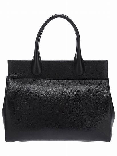 Leather Bag Tote Calf Alaia Alaia Bags