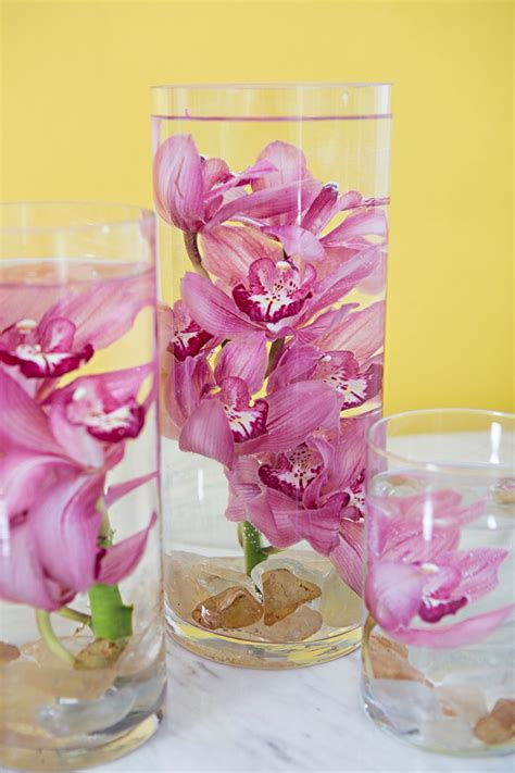 you have to learn our easy trick for submerging flowers in