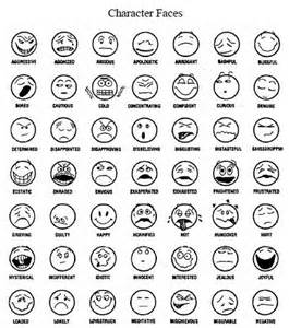 Printable Feeling Faces Coloring Pages