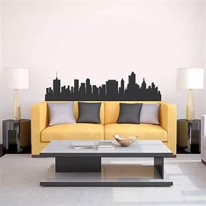 Tulsa oklahoma skyline vinyl wall decal sticker for Good look chicago skyline wall decal