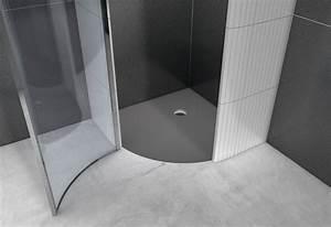 Wedi Bauplatte Xxl : wedi fundo borgo halbrundes duschelement mit punktentw sserung ~ Frokenaadalensverden.com Haus und Dekorationen
