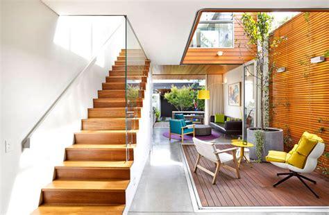 colourful  open family home  elaine richardson architects interiorzine