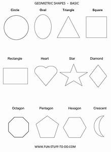 geometric shapes worksheets free to print leather tech With shape tracing templates