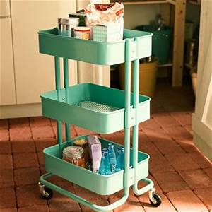 23 new and notable kitchen and bath problem solvers for Bathroom cart on wheels