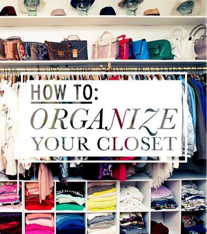 step by step how to organize your closet for the home