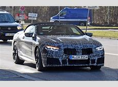 2020 BMW M8 Convertible Spied With Less Camouflage