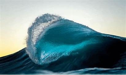 Nature Ocean Waves Hypnotic Pulse Cinemagraphs Ray