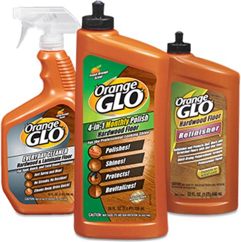 orange glo hardwood and furniture care products