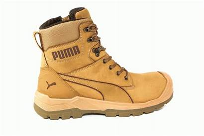 Conquest Puma Waterproof Boot Safety Wheat Lace