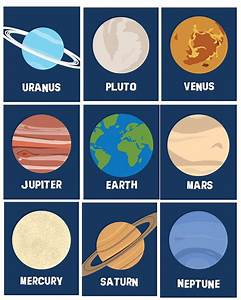 What Color Are The Planets In Our Solar System - Pics ...