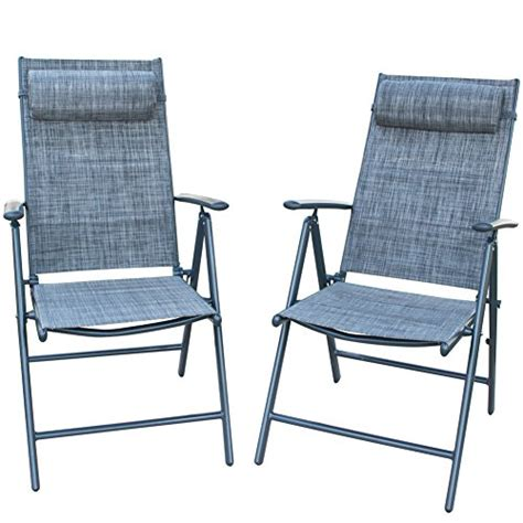 Patiopost Folding Chairs Adjustable Outdoor Recliner Patio