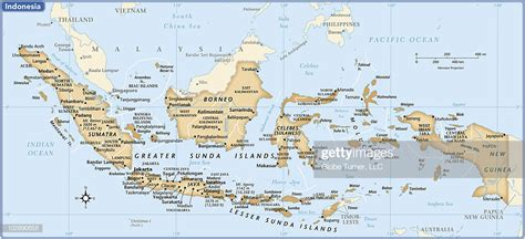 indonesia country map vector art getty images
