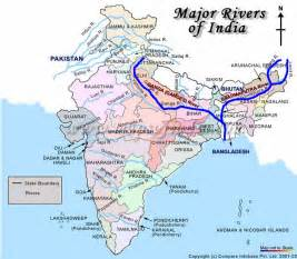 Ganga River Map Image Gallery HCPR