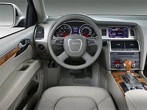 Audi Q7 Interieur : photo audi q7 interieur exterieur ann e 2007 ~ Nature-et-papiers.com Idées de Décoration
