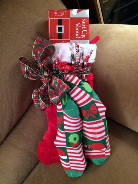 christmas gift ideas with socks was kann als mitbringsel zu weihnachten schenken