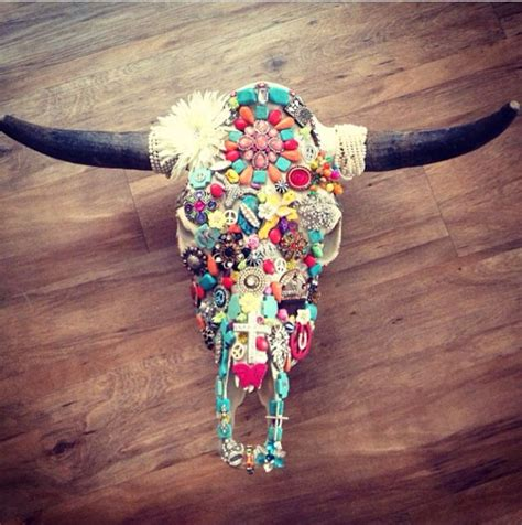 Decorated Cow Skulls Images by Cow Skull I Decorated Decor