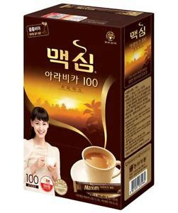 Posted by nellie muller on 21st oct 2019. Korean Instant Coffee Mix Maxim Arabica 100 Sticks 8801037035964 | eBay