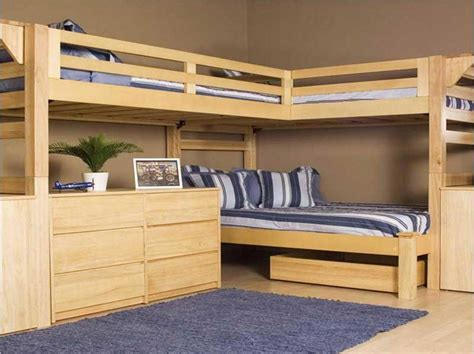 bunk bed with futon and desk bunk beds with desks with l shape ideas home interior