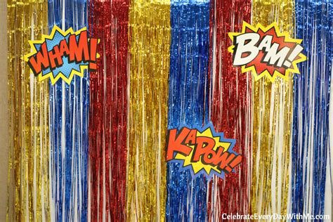 Fantastic Decorating Ideas For An Adult Superhero Party