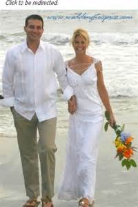 Casual Beach Wedding Grooms Attire for Men