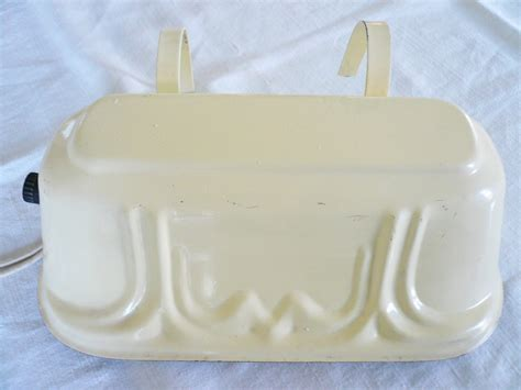 Headboard Lights For Reading by Vintage Headboard Bed Reading Light Lamp Soft Yellow Metal