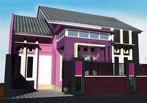 gambar  idea ruang tamu ungu khas peminat hiasan view
