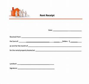 simple house or property rent bill receipt template free With get paid to translate simple documents from your home