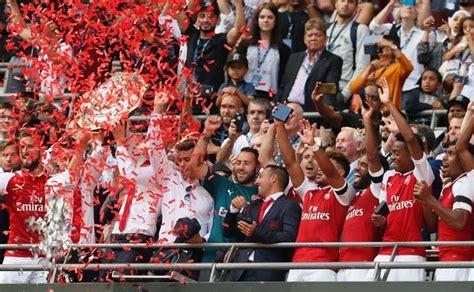 Arsenal gana la Community Shield al vencer a Chelsea