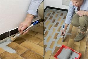 Farbe Für Bodenfliesen : alte fliesen streichen anleitung in bildern praktische tipps ~ Sanjose-hotels-ca.com Haus und Dekorationen
