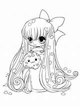 Coloring Chibi Cool Coloriage Printable Fancy Adult Manga Anime Imprimer Biscuit Sheets Games Personnage Et Popular Coloringhome Cat Recommended sketch template