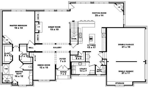 4 Bedroom House Plans 2 Story by 4 Bedroom 2 Story House Plans Split Bedroom 2 Story 5