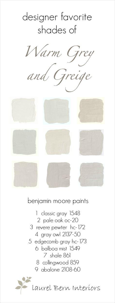Fabulous Benjamin Moore Warm Gray Paint Colors