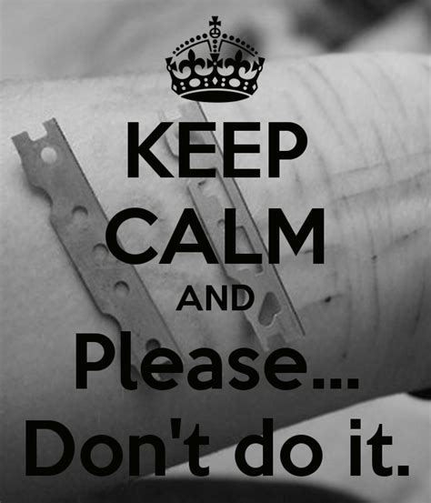 Keep Calm And Please Don't Do It Poster Sofia