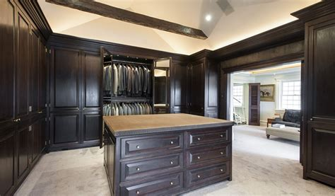 today in ostentatious opulence closets that are larger