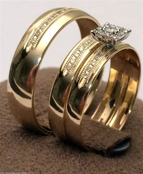 brilliant cheap wedding rings his and hers matvuk com