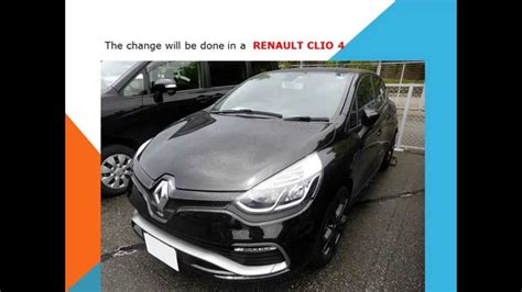 renault clio    replace pollen filter cabin filter