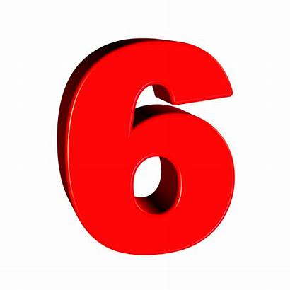 Number Transparent Six Pixabay Clipart Numbers Number6