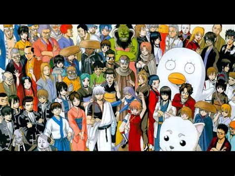 top  gintama characters youtube