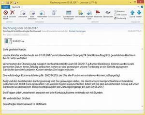 Online Payment Gmbh Rechnung : unbeglichene rechnung 3 august 2017 buchungsnummer 47152810 von stellvertretender rechtsanwalt ~ Themetempest.com Abrechnung